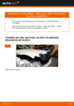 Wie Mercedes W211 Kraftstofffilter wechseln - Schritt für Schritt Anleitung