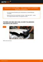 Wie Mercedes W211 Kraftstofffilter wechseln - Anleitung