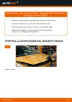 Come cambiare olio motore e filtro su Peugeot 207 hatchback - Guida alla sostituzione