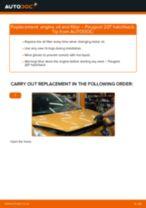 PEUGEOT 207 manual pdf free download
