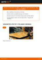 Verkstadshandbok för Peugeot 308 2