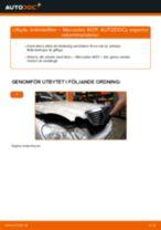 Byta bränslefilter på Mercedes W211 – utbytesguide