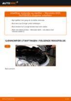 Skifte Baklyspære MERCEDES-BENZ E-CLASS: verkstedhåndbok