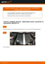 BOSCH LS02 varten C-sarja Sedan (W203) | PDF vaihto-ohje