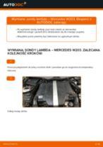 Jak wymienić sondę lambda w Mercedes W203 - poradnik naprawy