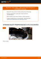 Jak wymienić oleju silnikowego i filtra w Mercedes W211 - poradnik naprawy