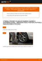 Krok za krokom příručka na opravu Mercedes S203