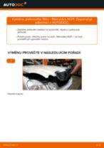 PDF návod na výměnu: Palivový filtr MERCEDES-BENZ Třída E Sedan (W211) nafta a benzín