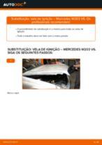 Mudar Vela de Ignição MERCEDES-BENZ C-CLASS: manual técnico