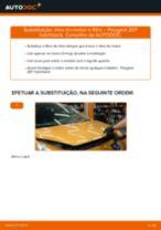 Manual DIY sobre como substituir o Barra Axial Da Direção no TOYOTA RAV4 2020