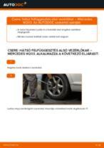 MERCEDES-BENZ bal és jobb Lengőkar cseréje csináld-magad - online útmutató pdf