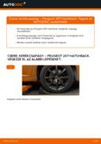 Autószerelői ajánlások - PEUGEOT 207 (WA_, WC_) 1.6 HDi Gyújtótekercs cseréje