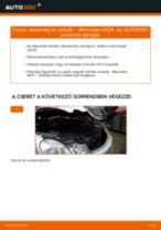 Motorolaj és szűrők-csere Mercedes W211 gépkocsin – Útmutató