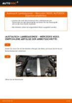 Oxygen Sensor vor Katalysator austauschen: Online-Anleitung für MERCEDES-BENZ C-CLASS