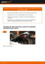 Installation von Motorölfilter MERCEDES-BENZ C-CLASS (W203) - Schritt für Schritt Handbuch