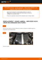 Comment changer : sonde lambda sur Mercedes W203 - Guide de remplacement