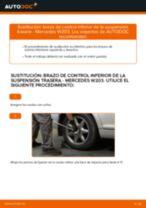 Cómo cambiar: brazo de control inferior de la suspensión trasera - Mercedes W203 | Guía de sustitución