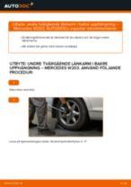 Verkstadshandbok för Mercedes W204