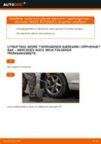 Skifte Blinkers MERCEDES-BENZ C-CLASS: gratis pdf