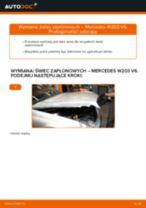 Samodzielna wymiana Stabilizator przedniego zawieszenia przód lewy prawy VW - online instrukcje pdf