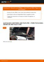 Wie Ford Focus MK2 Benzin Motoröl und Ölfilter wechseln - Schritt für Schritt Anleitung