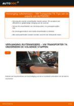 Hoe ruitenwissers vooraan vervangen bij een VW Transporter T4 – vervangingshandleiding