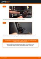 Wanneer Ruitenwisserbladen VW GOLF IV (1J1) vervangen: pdf handleiding