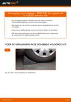 Hoe veerpootlager vooraan vervangen bij een BMW E90 – vervangingshandleiding