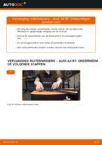 Hoe ruitenwissers vooraan vervangen bij een Audi A4 B7 – vervangingshandleiding