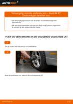 Hoe voorste onderste arm vervangen bij een Audi A4 B7 – vervangingshandleiding
