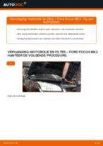 Hoe motorolie en filter vervangen bij een Ford Focus MK2 benzine – Leidraad voor bij het vervangen
