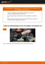 Remblokken vervangen AUDI A4: werkplaatshandboek