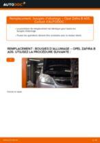 Comment changer : bougies d'allumage sur Opel Zafira B A05 - Guide de remplacement