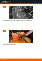Udskift viskerblade for - Skoda Octavia 1Z5   Brugeranvisning