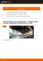 Udskift motorolie og filter - Citroen Xsara Picasso | Brugeranvisning