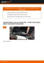 Udskift motorolie og filter - Ford Focus MK2 benzin | Brugeranvisning
