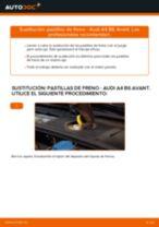 Cómo cambiar: pastillas de freno de la parte delantera - Audi A4 B6 Avant | Guía de sustitución