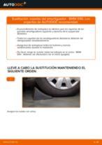 Cómo cambiar: copelas del amortiguador de la parte delantera - BMW E90 | Guía de sustitución