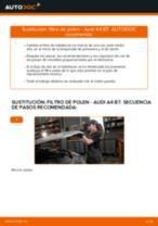 Cómo cambiar: filtro de polen - Audi A4 B7 | Guía de sustitución