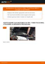 Come cambiare è regolare Kit riparazione pinza freno FORD FOCUS: pdf tutorial