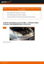 Gratis instruktioner online hur installerar man Oljefilter CITROËN XSARA PICASSO (N68)