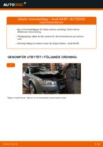 Byta bromsbelägg bak på Audi A4 B7 – utbytesguide