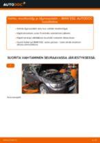 Kuinka vaihtaa moottoriöljy ja öljynsuodatin BMW E92-autoon – vaihto-ohje