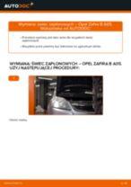 Jak wymienić świece zapłonowe w Opel Zafira B A05 - poradnik naprawy