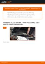 Jak wymienić oleju silnikowego i filtra w Ford Focus MK2 benzyna - poradnik naprawy