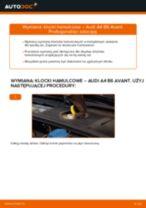 Jak wymienić Zestaw klocków hamulcowych tylne i przednie null null - instrukcje online