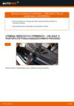 Ako vymeniť zadné brzdový strmeň na VW Golf 4 – návod na výmenu