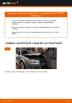 Výmena Brzdové Platničky AUDI A4: dielenská príručka