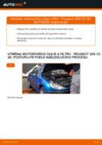 Doporučení od automechaniků k výměně PEUGEOT Peugeot 206 cc 2d 2.0 S16 Vzduchovy filtr