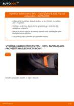 Návodý na opravu a údržbu OUTBACK (BE, BH)